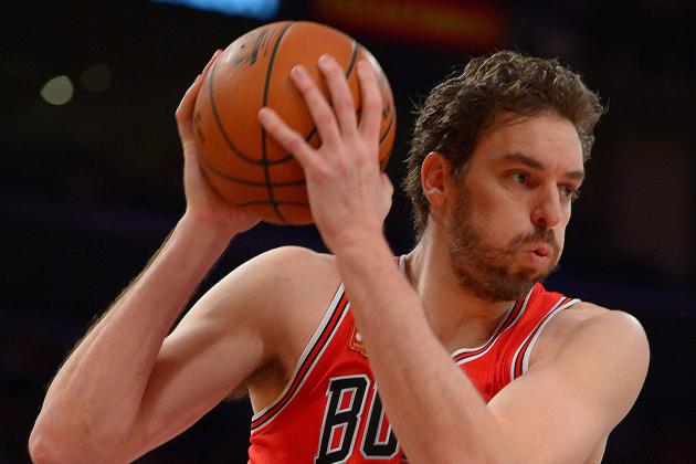 Pau Gasol to Replace Jimmy Butler in 2016 NBA All-Star Game