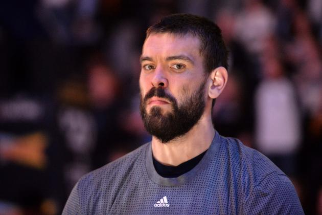 Marc Gasol Injury Update: Grizzlies Star Out Indefinitely with Broken Foot