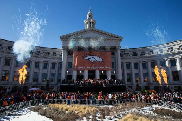 Broncos Parade 2016: Top Moments from Denver's Super Bowl 50 Celebration