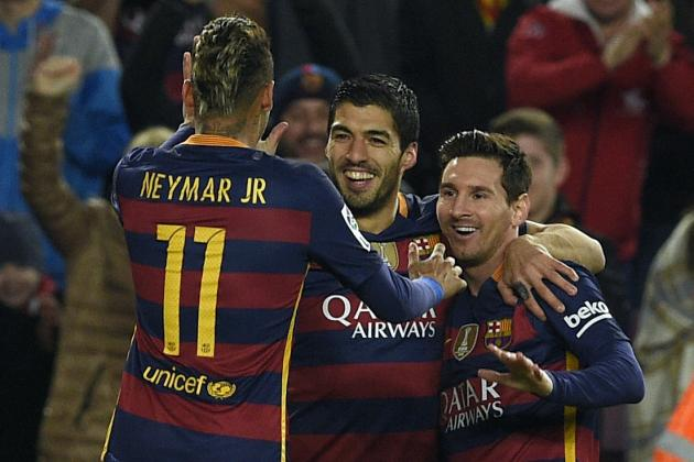 Lionel Messi, Neymar, Luis Suarez Replaced by Barcelona Youth for Valencia Match