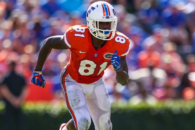 Very Quietly, Florida HC Jim McElwain Developing Versatile WR Corps