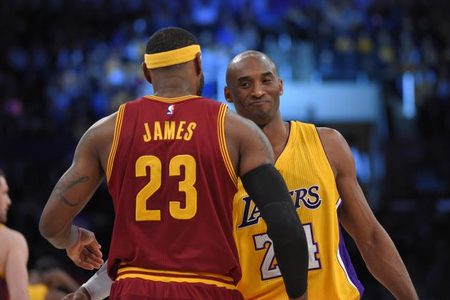 Kobe Bryant Comments on Relationship with LeBron James