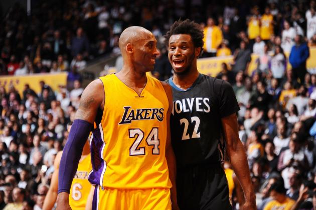 In Kobe Bryant, Andrew Wiggins Finding Blueprint for Rising Stardom