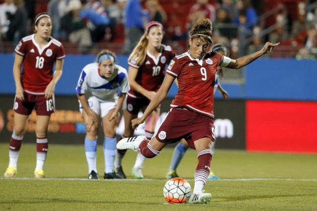 Puerto Rico vs Mexico Women's Soccer: Score, Reaction for 2016 Olympic Qualifier