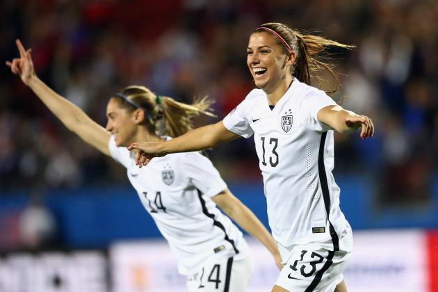 USA vs. Costa Rica Women's Soccer: Score, Reaction for 2016 Olympic Qualifier