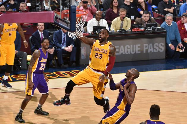Lakers vs. Cavaliers: Score, Highlights and Reaction from 2016 Regular Season