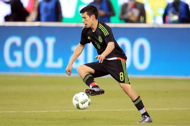 Young Attackers Prove They Can Make Impact During Mexico's Busy 2016