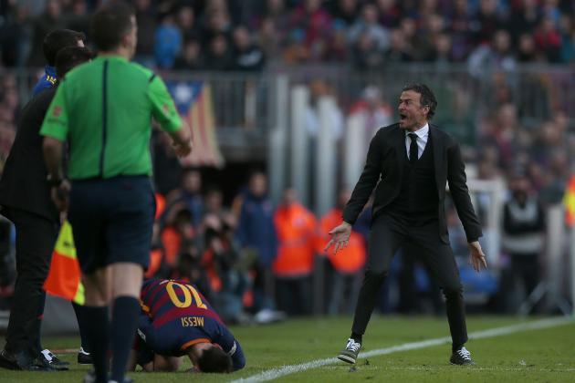 Barcelona Struggle Against Valencia Shows Why Luis Enrique Wants Reinforcements