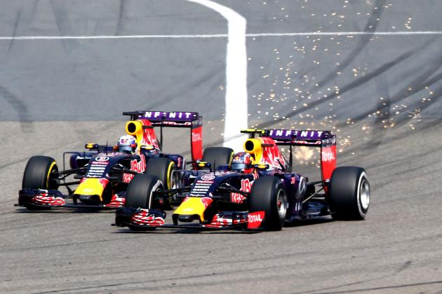 Formula 1 2016 Head-to-Head: Daniil Kvyat vs Daniel Ricciardo at Red Bull