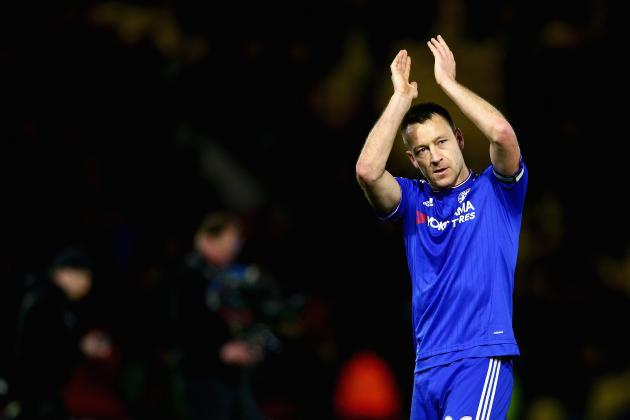 Chelsea Transfer News: John Terry Contract 'Poker' Discussed, Top Blues Rumours