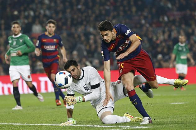 Barcelona Transfer News: Marc Bartra to Manchester United Links, Latest Rumours