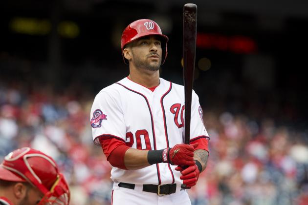 Ian Desmond Signs with Texas Rangers