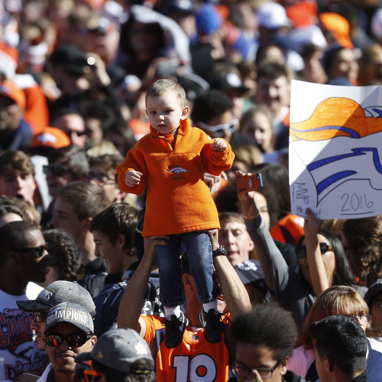 Denver Broncos' Super Bowl Victory Parade Leads To 24,000