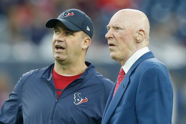 Bob McNair Comments on Texans' QB Situation, 2016 NFL Draft