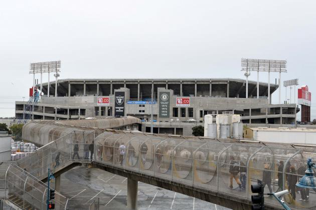 Raiders, Oakland Coliseum Sign 1-Year Contract: Latest Details and Reaction