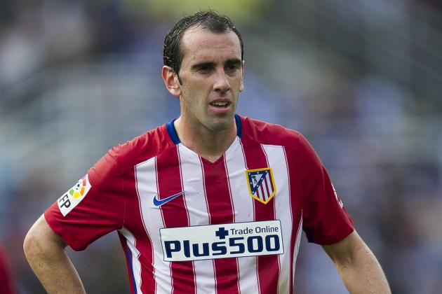 Chelsea Transfer News: Diego Godin Eyed as John Terry Replacement, Fresh Rumours