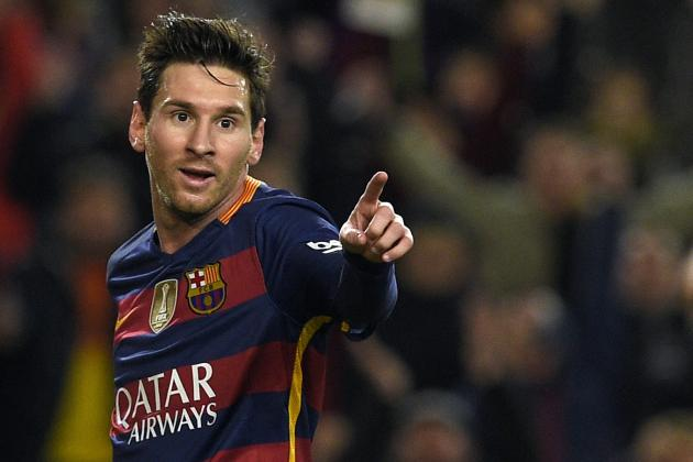 Lionel Messi Wins La Liga Player of the Month Award for 1st Time in His Career