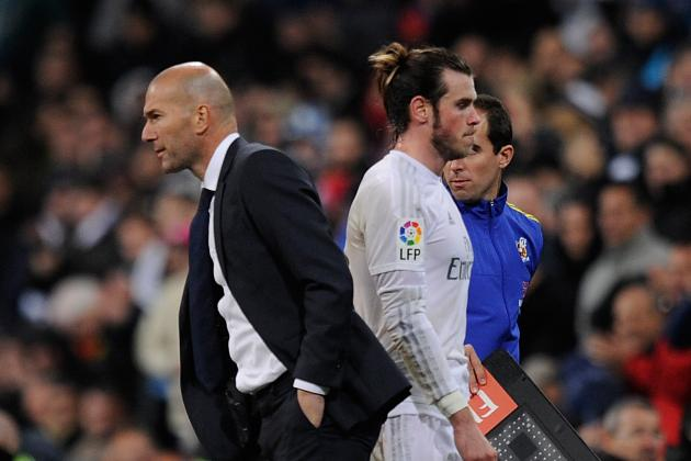 Zinedine Zidane Reportedly Angry over Gareth Bale Injury Relapse at Real Madrid