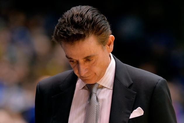 Rick Pitino Comments on Future at Louisville