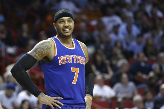 Carmelo Anthony Elected to NBPA Executive Committee