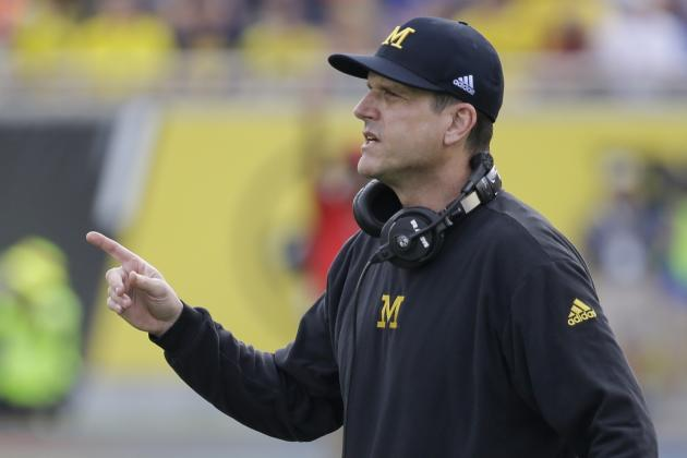 Jim Harbaugh's Michigan Recruiting Jet Costs Totaled Nearly $136k in 12-Day Span