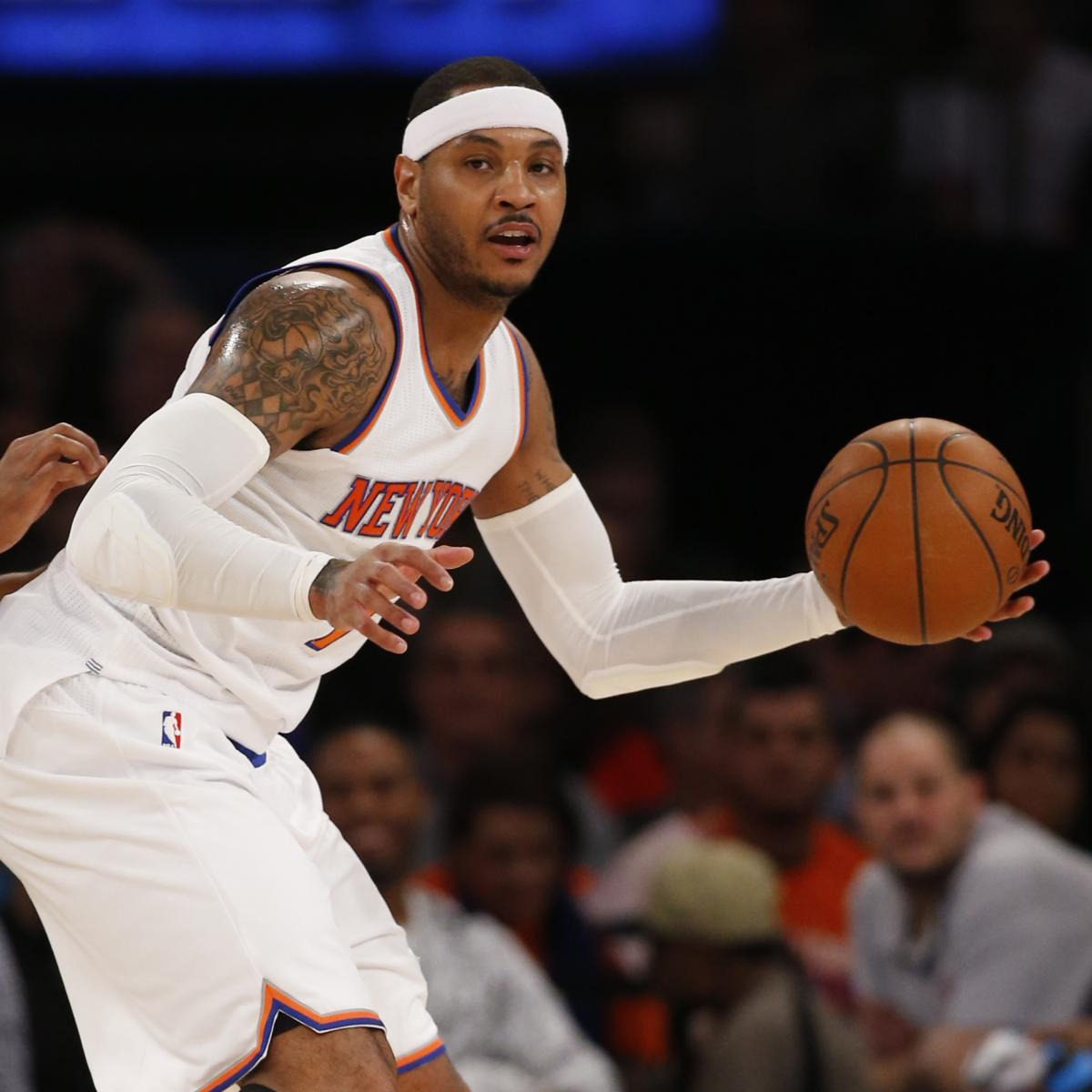 Carmelo Anthony Trade Rumors: Latest News, Speculation on ...
