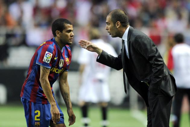 Dani Alves Talks 'Football Einstein' Pep Guardiola's Manchester City Move, More