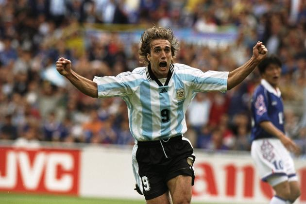 Luis Suarez Names Gabriel Batistuta as the Player He Most Admired Growing Up