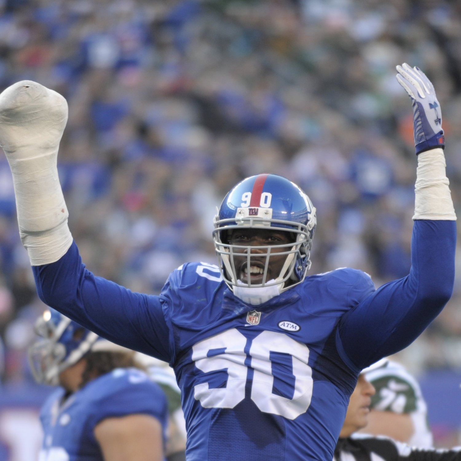 Jason Pierre-Paul Uses X-Ray Of Injured Hand As Avatar On