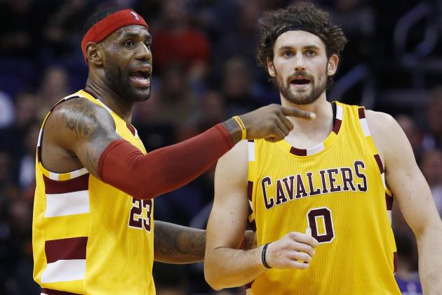 LeBron James Comments on Kevin Love Trade Rumors