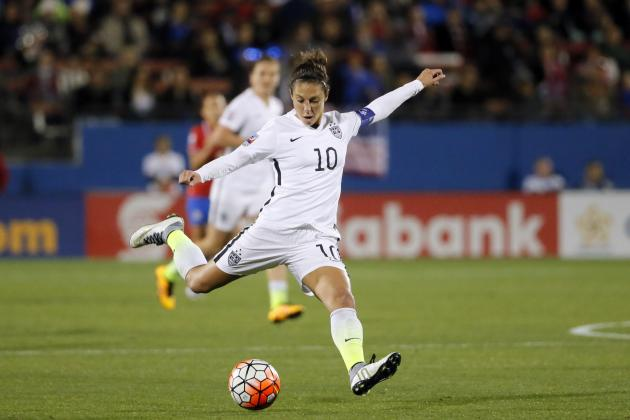 USA vs. Mexico Women's Soccer: Score and Reaction for 2016 Olympic Qualifying
