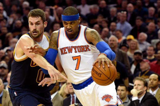 NBA Trade Rumors: Latest Buzz on Carmelo Anthony, Kevin Love and Dwight Howard