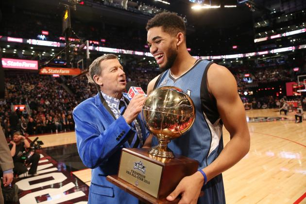 Karl Anthony-Towns Wins 2016 NBA Skills Challenge: Recap, Highlights, Reaction
