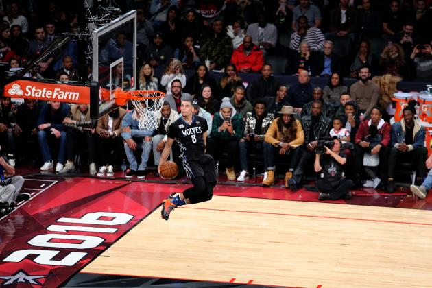 NBA Slam Dunk Contest 2016: Live Results from All-Star Weekend