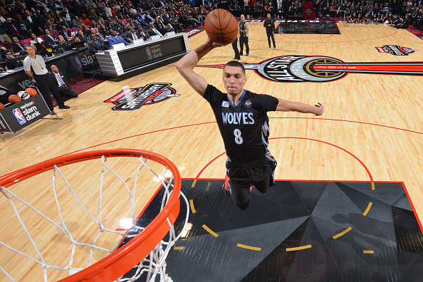 Zach LaVine Wins 2016 NBA Slam Dunk Contest: Where Win Ranks All Time