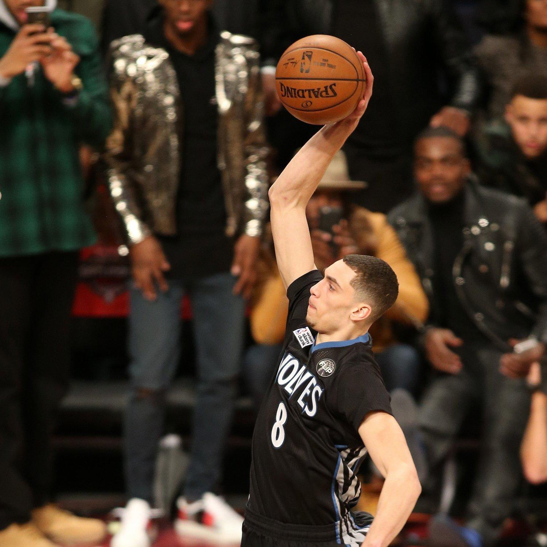 2016 NBA Slam Dunk Contest: Twitter Reacts As Zach LaVine