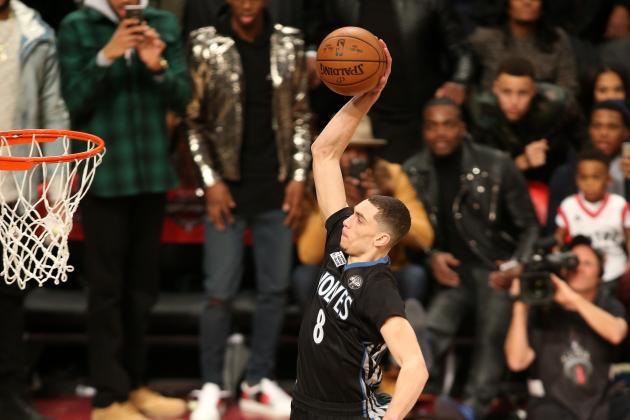 2016 NBA Slam Dunk Contest: Twitter Reacts as Zach LaVine Beats Aaron Gordon
