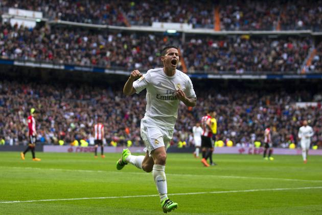 Real Madrid Transfer News: James Rodriguez Deals Blow to Manchester United Hopes