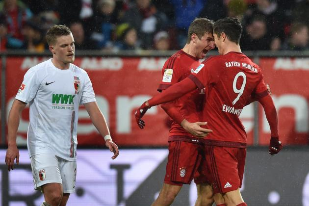Augsburg vs. Bayern Munich: Score, Reaction from 2016 Bundesliga Game