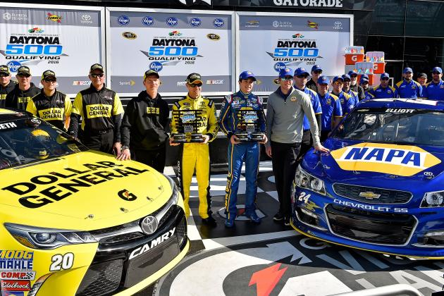 Daytona 500 2016: Starting Order, Top Drivers to Watch in Can-Am Duels