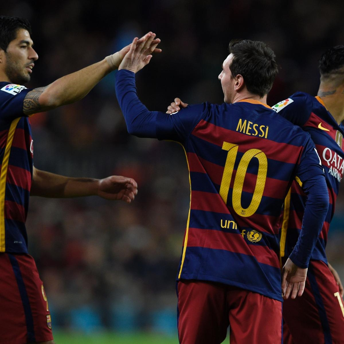 Barcelona Vs Celta Vigo In Youtube: Barcelona Vs. Celta Vigo: Live Score, Highlights From La