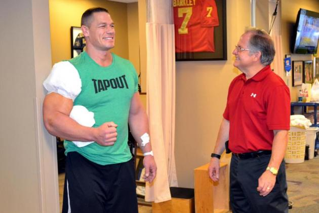 John Cena's History Suggests He Could Return Before WrestleMania 32