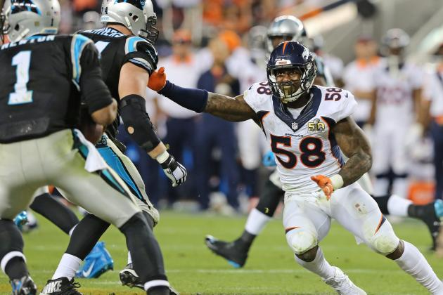 Von Miller Comments on Intentionally Batting Cam Newton Fumble in Super Bowl 50