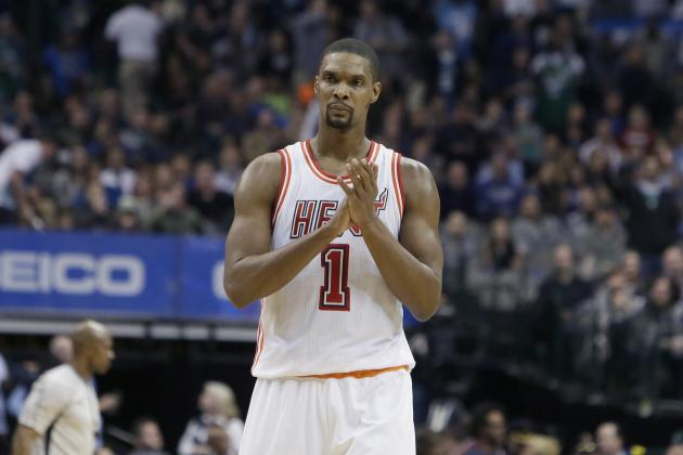 Chris Bosh Reportedly to Meet with Doctors Regarding Blood-Clot Scare in Calf