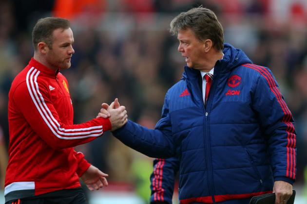 Wayne Rooney Comments on Louis van Gaal, Champions League and More