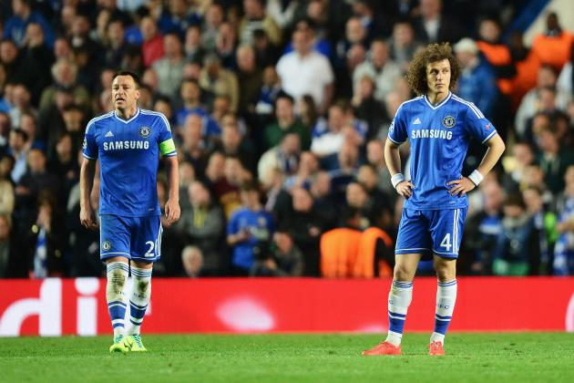 David Luiz Slams Chelsea Treatment of John Terry, Comments on Jose Mourinho