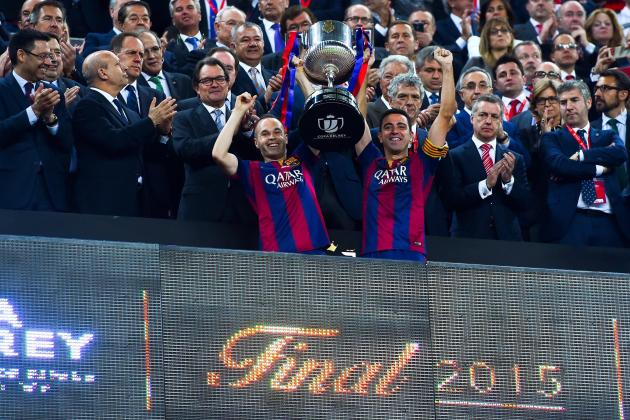 Barcelona's Hopes of Bernabeu Copa del Rey Final Hit by Bruce Springsteen