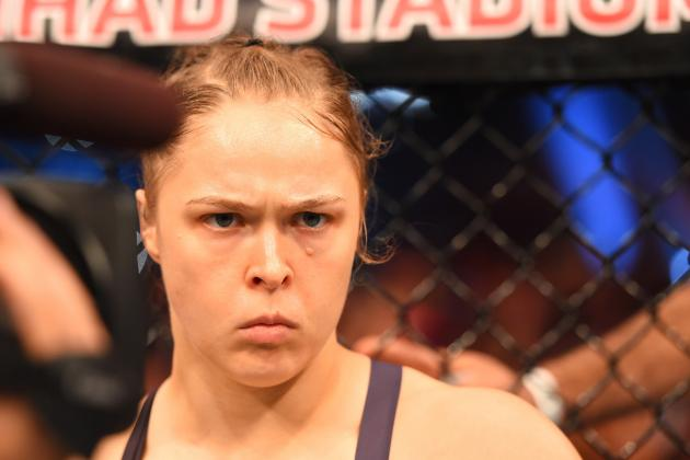 Ronda Rousey Files 'F--k Them All' Trademark Ahead of UFC Return