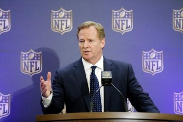 Sen'Derrick Marks Comments on Roger Goodell's Salary as NFL Commissioner