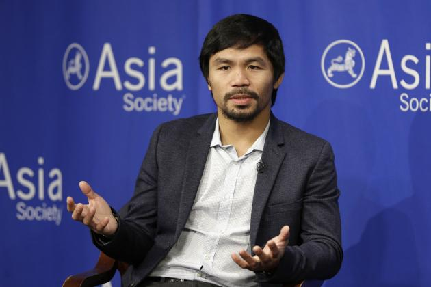 Manny Pacquiao Has Nike Contract Terminated After Comment on Gay Couples